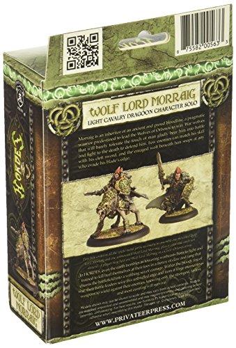 Privateer Press - Hordes - Circle Orboros: Wolf Lord Morraig Model Kit 4