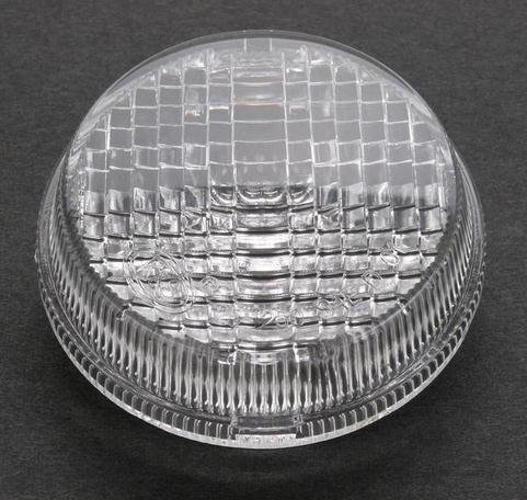 [K&S Technologies DOT Approved Turn Signal Replacement Lens - Clear 25-1250C] (Clear Signal Lenses)