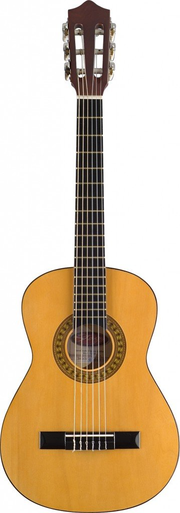 Stagg C505 1//4-Size Nylon String Classical Guitar Natural