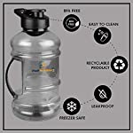 HulkNutrition Shaker Sipper Bottle, 1.5 L, 1 Piece, Multicolour