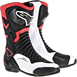 Alpinestars Men's SMX-6 v2 Vented Black/Red Boots, Euro 44