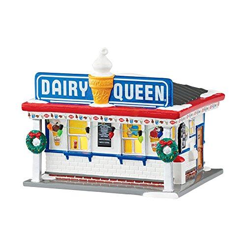 Department 56 Snow Village Dairy Queen Lit Building