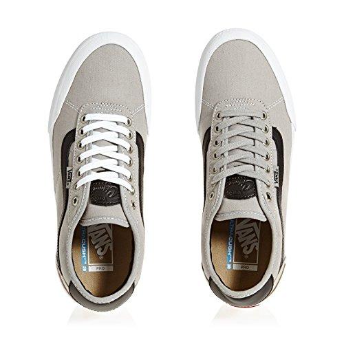 Herren Skateschuh Vans Chima Pro 2 Skateschuhe drizzle/black/white