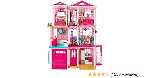 Amazon Com Barbie Dreamhouse Toys Games