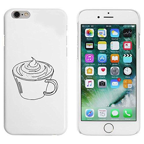 Blanc 'Chocolat Chaud' étui / housse pour iPhone 6 & 6s (MC00041314)