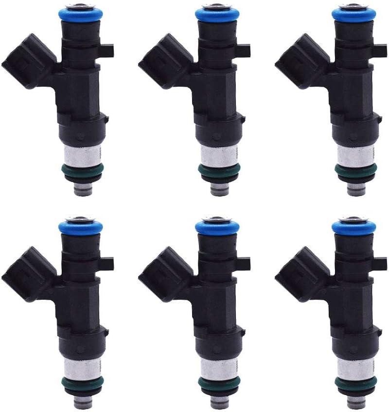 labwork 0280158028 6X Fuel Injectors for Dodge Chrysler 2.7L 3.5L V6 04591986AA