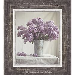 Lilac Cottage Decor, Rustic Wall Art, Canvas, Farm Art, Lavender Fixer Upper, Floral Shabby, Bathroom, Purple, 11x14 Print