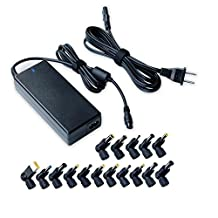 Universal 90w Laptop Charger Ac Power Adapter for Hp Compaq Dell Acer Asus Toshiba IBM Lenovo Samsung Sony Fujitsu Gateway Notebook Ultrabook