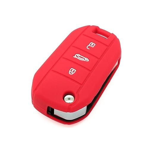 2 opinioni per Fassport Cover protettiva per telecomando per Peugeot, a 3 tasti, CV3300