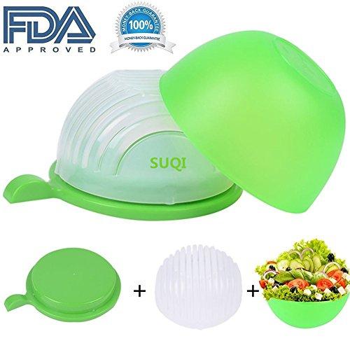 New Salad Cutter Bowl Vegetable Chopper Salad Maker Cutter