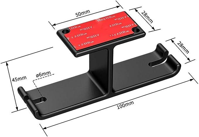 Yu2d Soporte de Aluminio para audífonos con Gancho para Colgar ...
