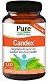 Pure Essence Labs Candex - Natural Candida and BioFilm Cleanse with Ultra Potent Enzymes - 120 Capsules
