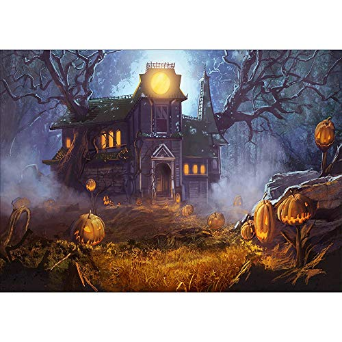 5D DIY Diamond Painting Paint by Numbers Kits for Adult, Halloween Cartoon Pumpkin Full Drill Diamond Embroidery Paintings Pictures Arts Craft for Home Decoration by SUNBIBE (F) -
