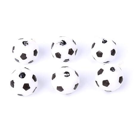 becauseof 6pcs/set fútbol balón de fútbol fiesta de cumpleaños ...