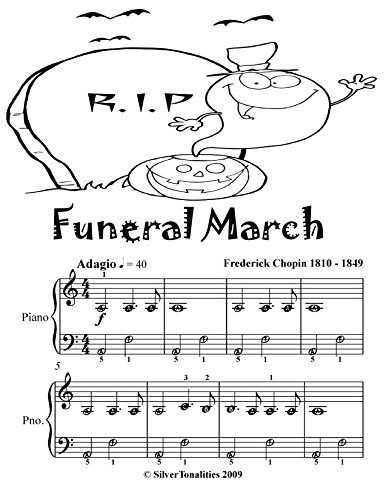 Funeral March Easiest Piano Sheet Music Tadpole Edition]()