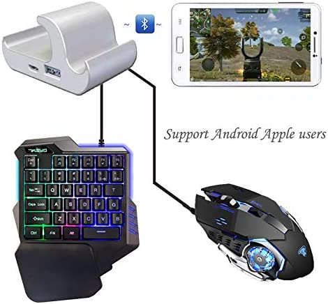 Alician Electronics for PUBG Mobile Phone Game Controller Mouse Keyboard Battledock Converter