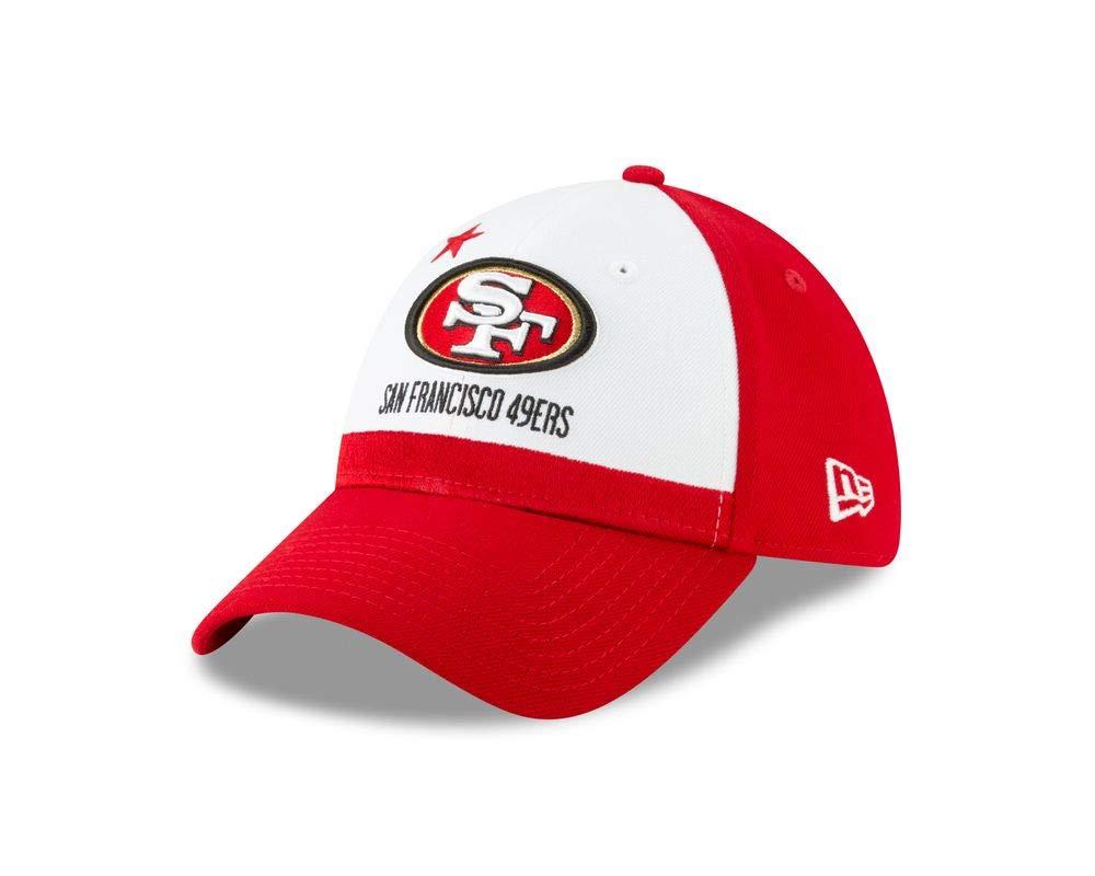ec7f167a4e692e Amazon.com : New Era San Francisco 49ers 2019 NFL Draft On-Stage Official  39Thirty Flex Hat : Clothing