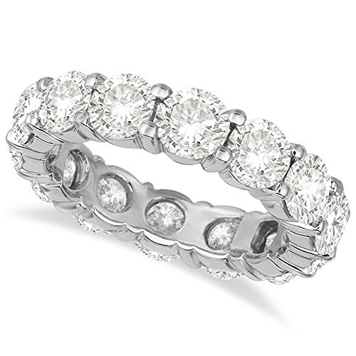 Diamond Eternity Ring Wedding Band Palladium (6.00ct) Diamond Palladium Wedding Band