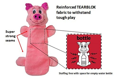 Smart Pet Love Tender Tuffs - Pig Bottle by Smart Pet Love (Image #4)