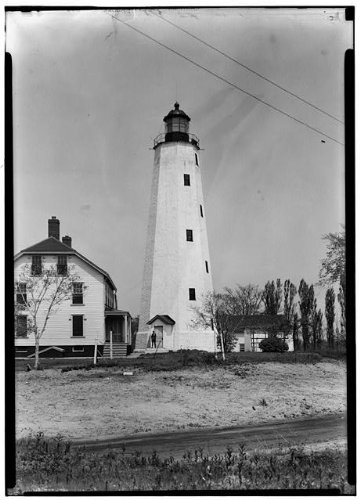 Photo: Sandy Hook Lighthouse, Fort Hancock, Fort Hancock, Monmouth County, NJ