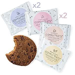 Galletas CompletEats: veganas, sin gluten (12 galletas ...