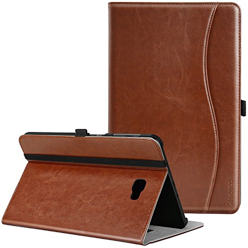 Samsung-Galaxy-Tab-A-101-Case---Ztotop-Leather-Folio-Case-Cover-for-Samsung-101-Inch-Tablet-SM-T580-T585NO-S-Pen-Version-with-Auto-WakeSleep-and-Card-Slots-Multiple-Viewing-Angles-Brown