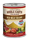 Whole Earth Farms Red Meat Recipe, 12.7-Ounce, Pack of 12