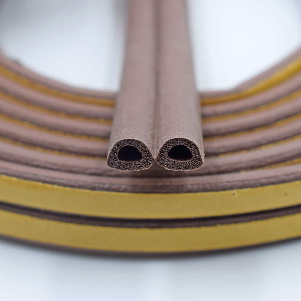 Details about  /Door Crack Bottom Sealing Strips Wind Sound-Proof Gap Rubber Sticker^#@