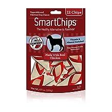 SmartBones SmartChips Chicken Dog Chews, 12-Count