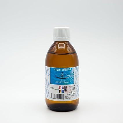 Plata coloidal 250 ml - 10 ppm - Laboratorio Suiza - calidad ...