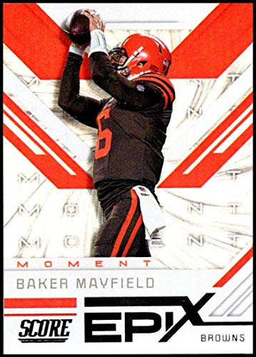 2019 Score Epix Moment #10 Baker Mayfield NM-MT+ Cleveland Browns Officially Licensed NFL Football Trading Card