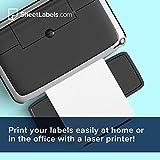 Clear Waterproof Sticker Paper, for Laser