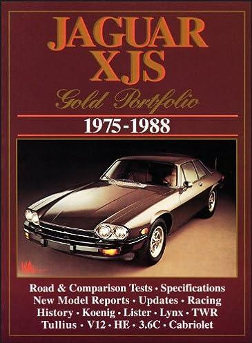 jaguar xjs gold portfolio 1975 1988 r m clarke 9781855202719 rh amazon com