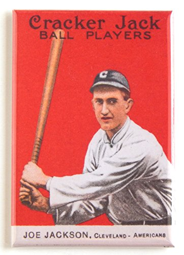 Shoeless Joe Jackson Fridge Magnet (2 x 3 inches)