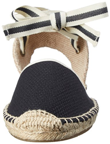 Soludos Women's Classic Espadrille Sandal, Black, 9 B US