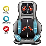 Comfier Shiatsu Neck & Back Massager – 2D/3D Kneading Full Back...