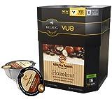 Keurig 96 Vue Packs Gloria Jean's Coffee Hazelnut