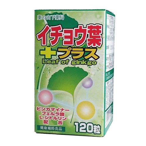 【3個セット】イチョウ葉プラス 120粒 ビンカマイナー、L-シトルリン、フェルラ酸配合 B01DZP2IR4   3個セット