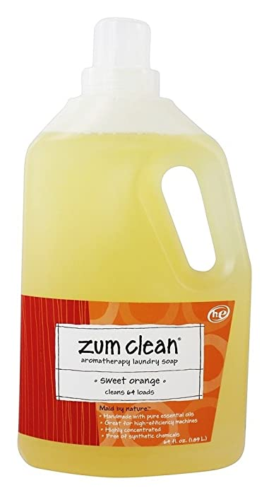 Zum, Laundry Liquid Clean Sweet Orange, 64 Fl Oz