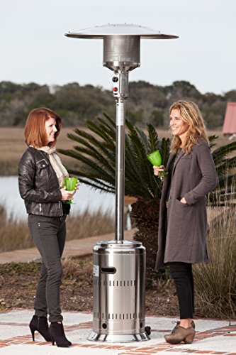 Fire-Sense-Commercial-Patio-Heater-Unpainted-Stainless-Steel