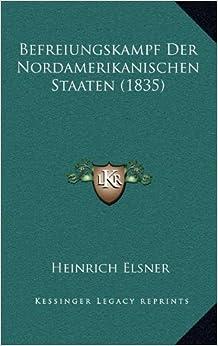 Book Befreiungskampf Der Nordamerikanischen Staaten (1835)