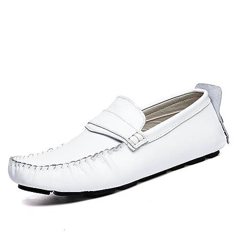 Diseño de Moda Noble para Hombres Grant Canoe Penny Loafer Slip on Moccasins Zapatos Casuales (