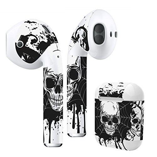 Airpods Skin + Case Skin Sticker Skin Decal for airpod Compatible with AirPods 1st(2016) and 2nd(2019) Stylish Covers for Protection & Customization -