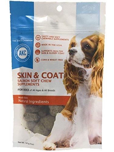American Kennel Club Skin and Coat Dog Treats Soft Chews - B