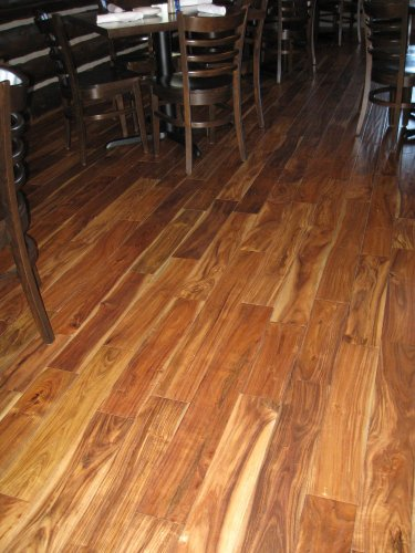 Acacia natural hand scraped sample solid hardwood for Wood floor 7 days to die