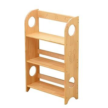 Amazoncom Xing Hua Shop Bookcases Bookshelf Solid Wood Floor
