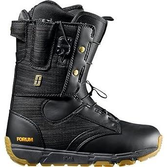 Amazon.com: Foro de los hombres botas de snowboard el guante ...