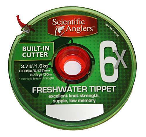3M Scientific Anglers Freshwater Tippet Line, 6X