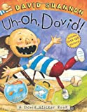 Uh-oh, David! Sticker Book