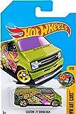 2016 Hot Wheels Kmart Exclusive Hw Art Cars 7/10 - Custom '77 Dodge Van (Green)
